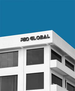outsourcing office building of PBO Global