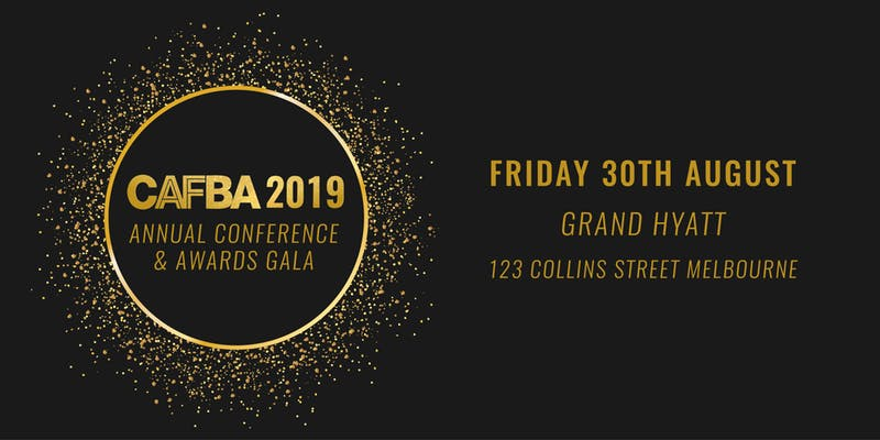 CAFBA Annual Conference 2019 Official Logo